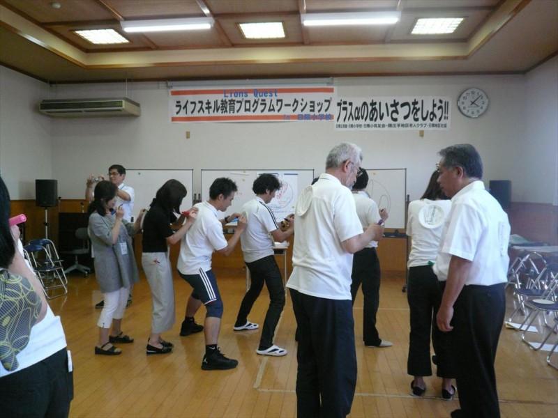 2016・8.26日田すいめいLC 日隈クエスト・レオワークショップ