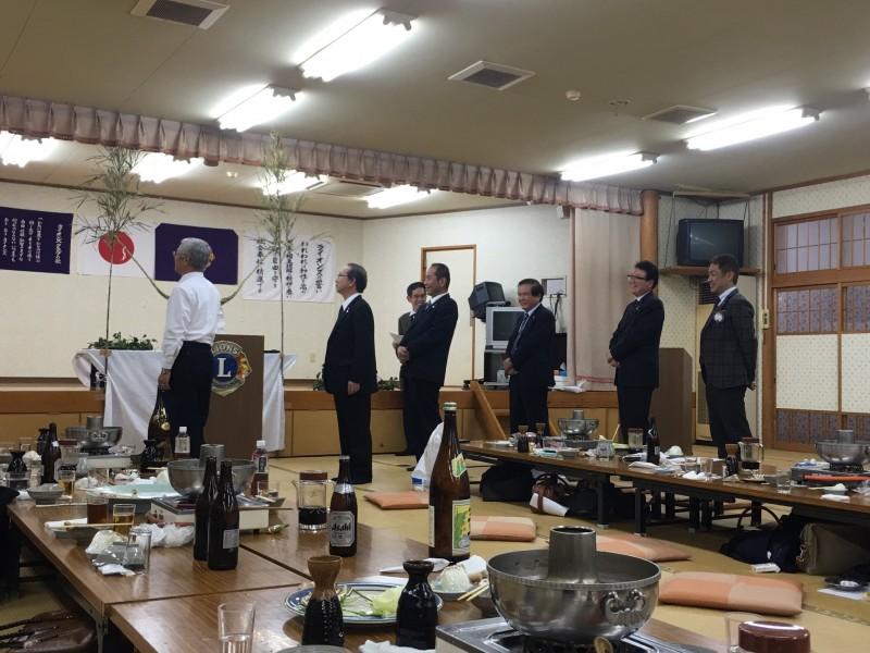 都城LC 1・10 姉妹クラブ末吉LC合同新年例会