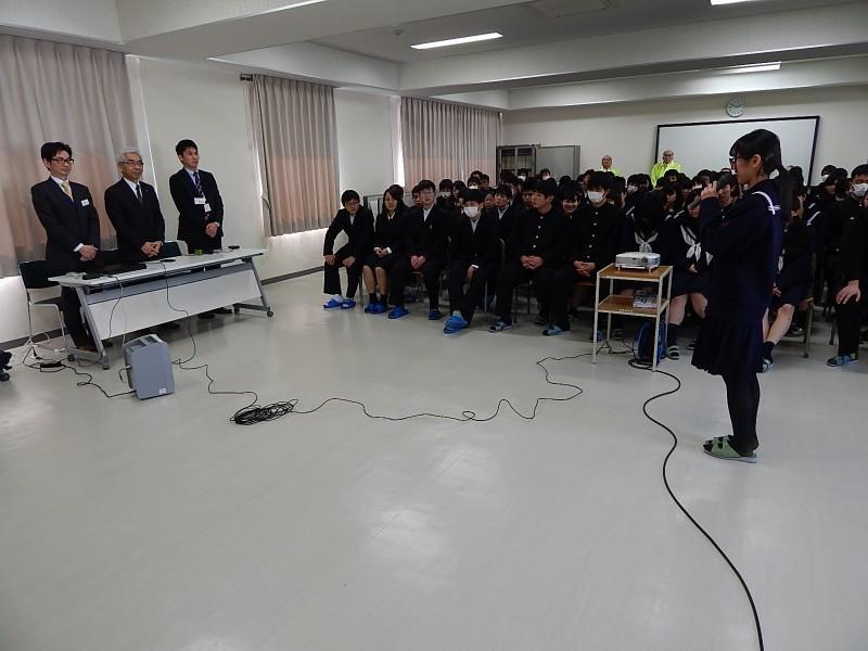 玖珠LC 2・3 県立玖珠美山高校献血セミナー