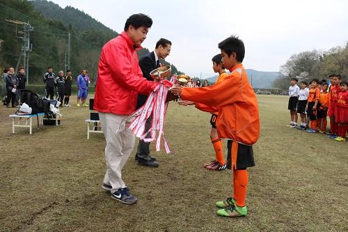 日田LC 4・8 少年サッカー大会