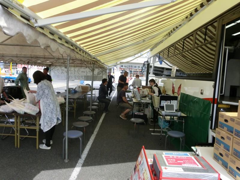 都城シテイーLC 5・21 献血活動