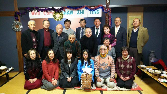 国東LC 12/12 YCE来日生歓迎会